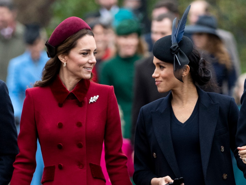 Queen Elizabeth Turned To Kate Middleton To Resolve Feud ...