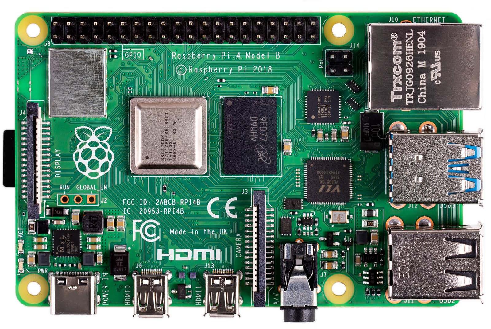Raspberry Pi 4 Features Broadcom BCM2711 Processor, Up to ...