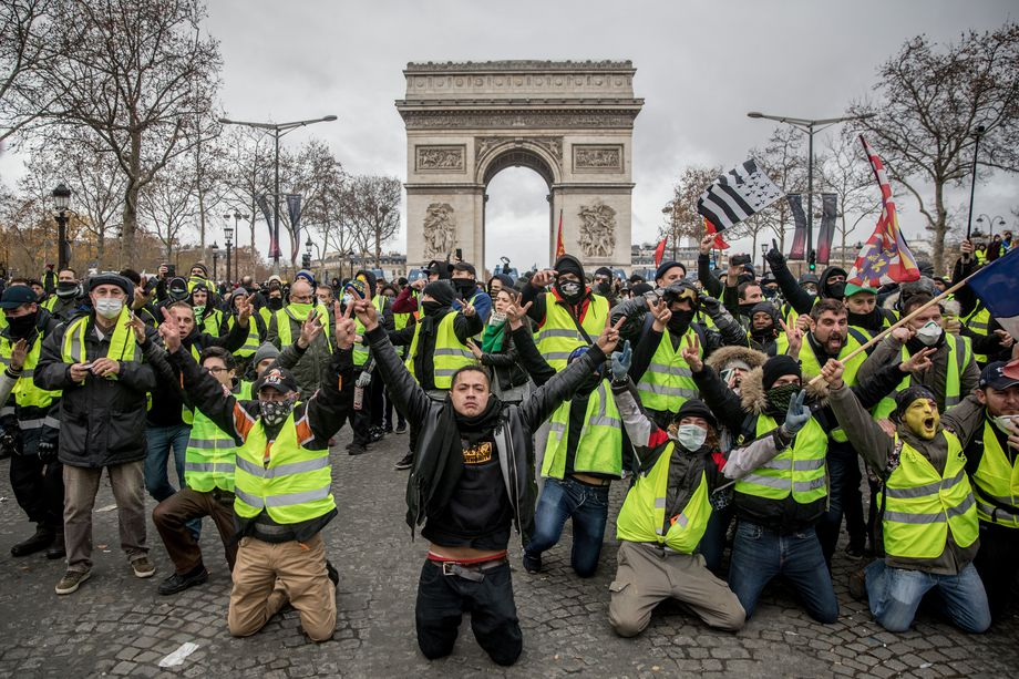 The Yellow Vests Rise Up Against the Elites and Neoliberal ...