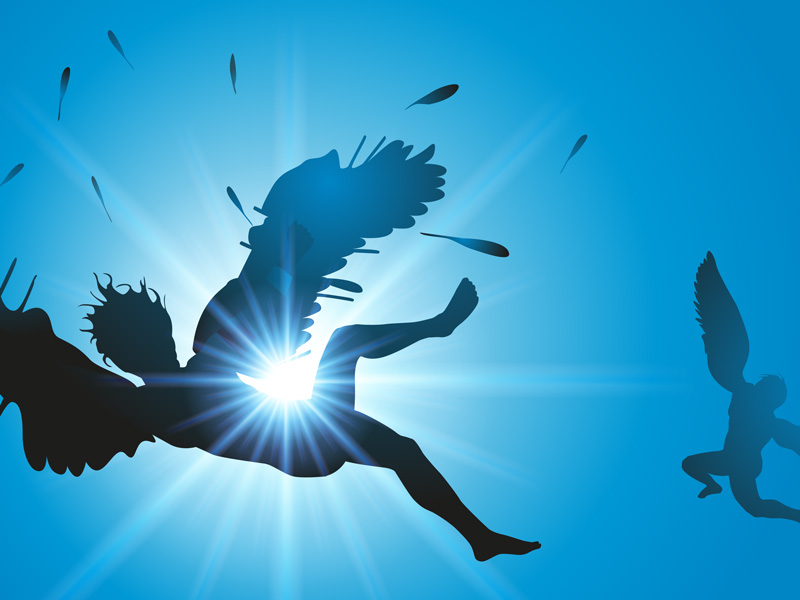 Cuento corto de Ícaro y Dédalo para niños. Mitología griega