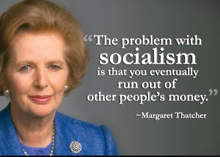 See What Margaret Thatcher Said About Socialism ...
