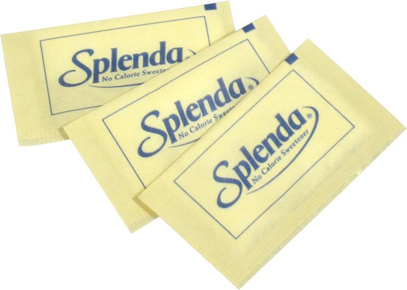 Splenda Sweetener Yellow Packet, 1 gm Each, 2000 Packets Total