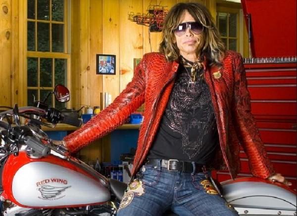 Steven Tyler tiene su propia marca de motocicletas
