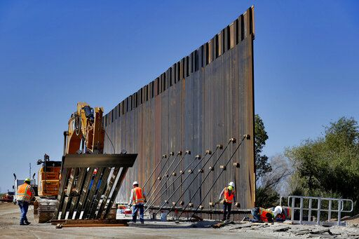 DHS seeks 270 miles of border wall using counter-narcotics funds…
