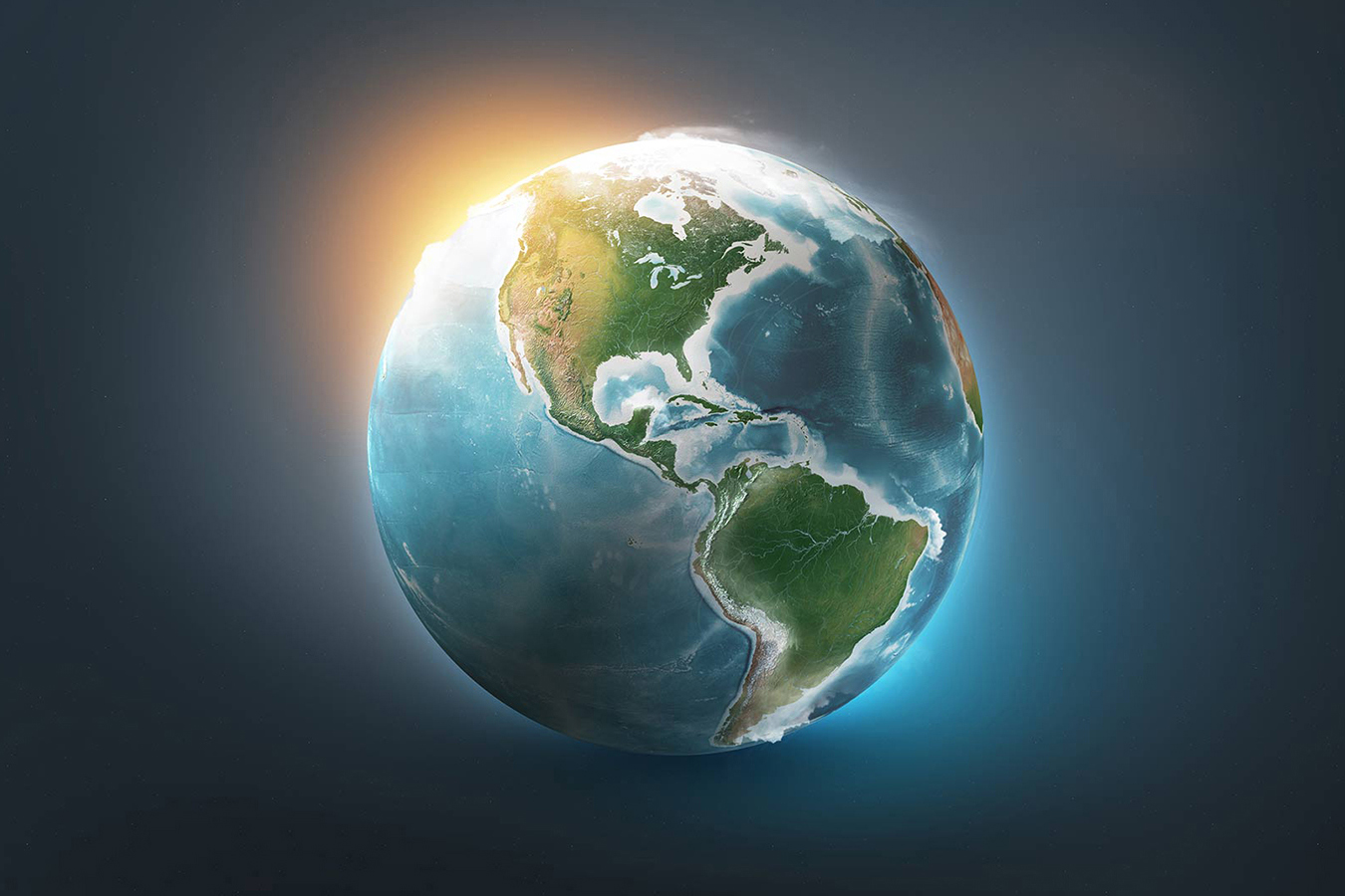 3D Planet Earth World for Photoshop - Design Cuts