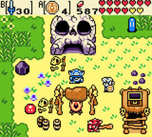 Why yes, I'd play Zelda: Breath of the Wild on a Game Boy ...