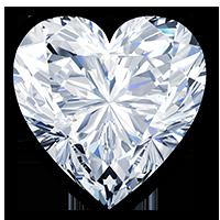 Diamanten hart | Hart geslepen diamant ...