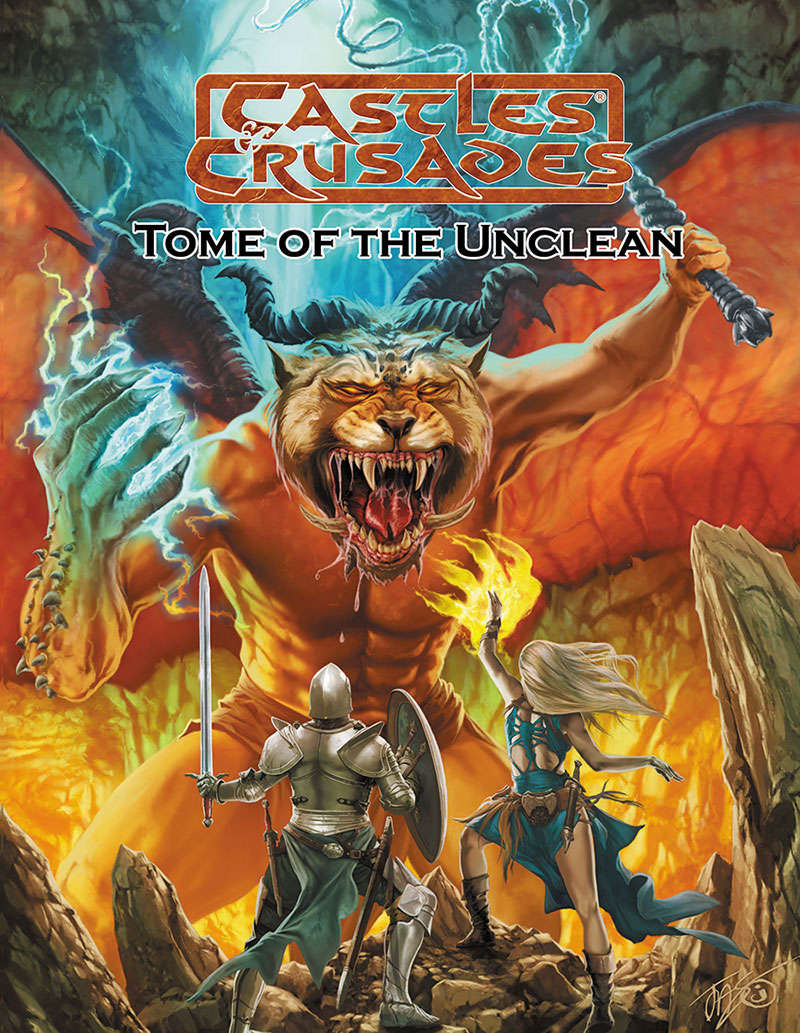 Castles & Crusades -- Tome of the Unclean - Troll Lord ...