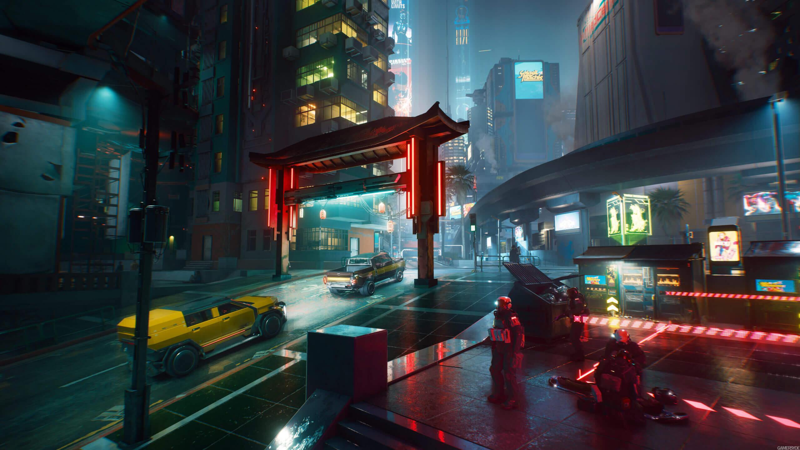 New Cyberpunk 2077 screenshots showcase the beauty of Night City