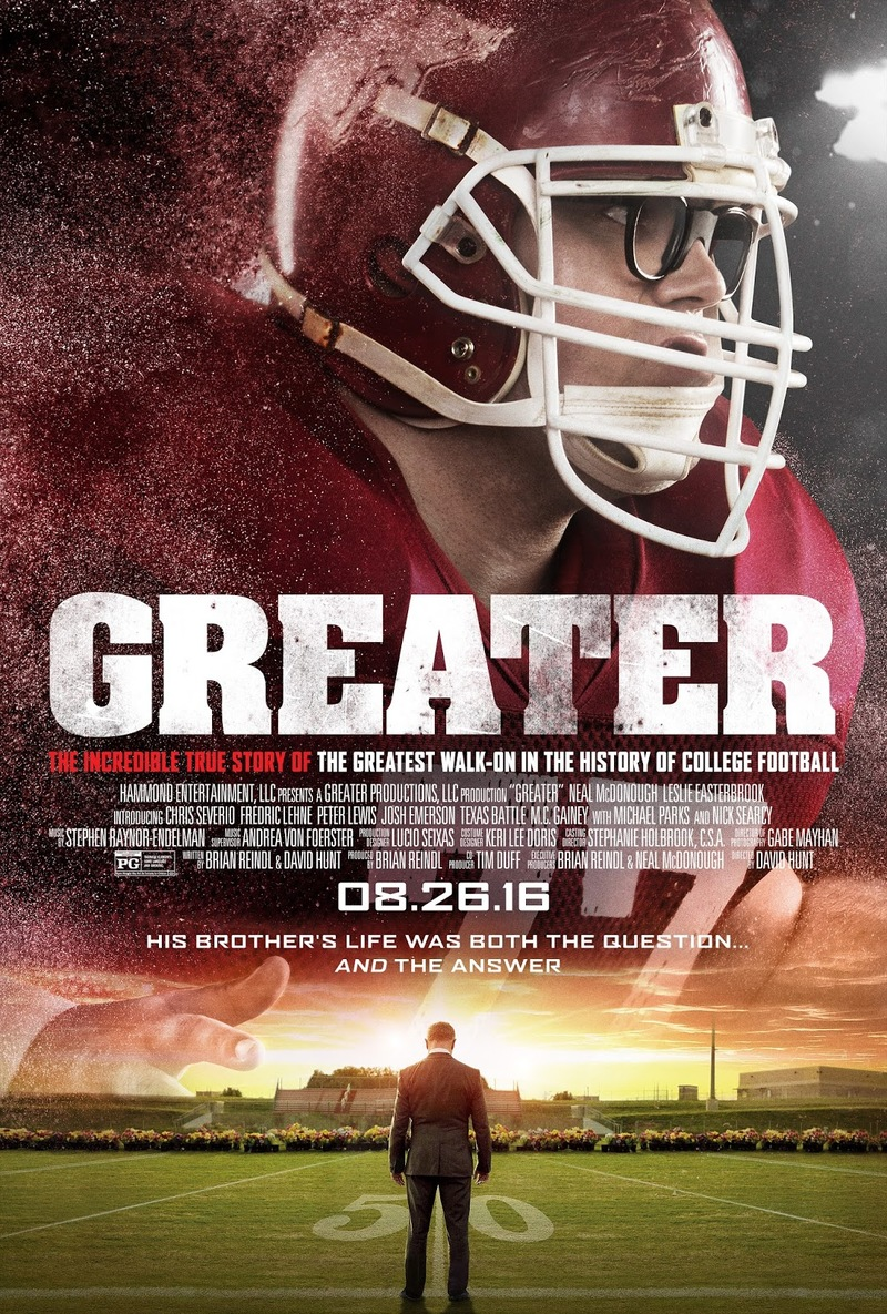 Greater DVD Release Date December 20, 2016