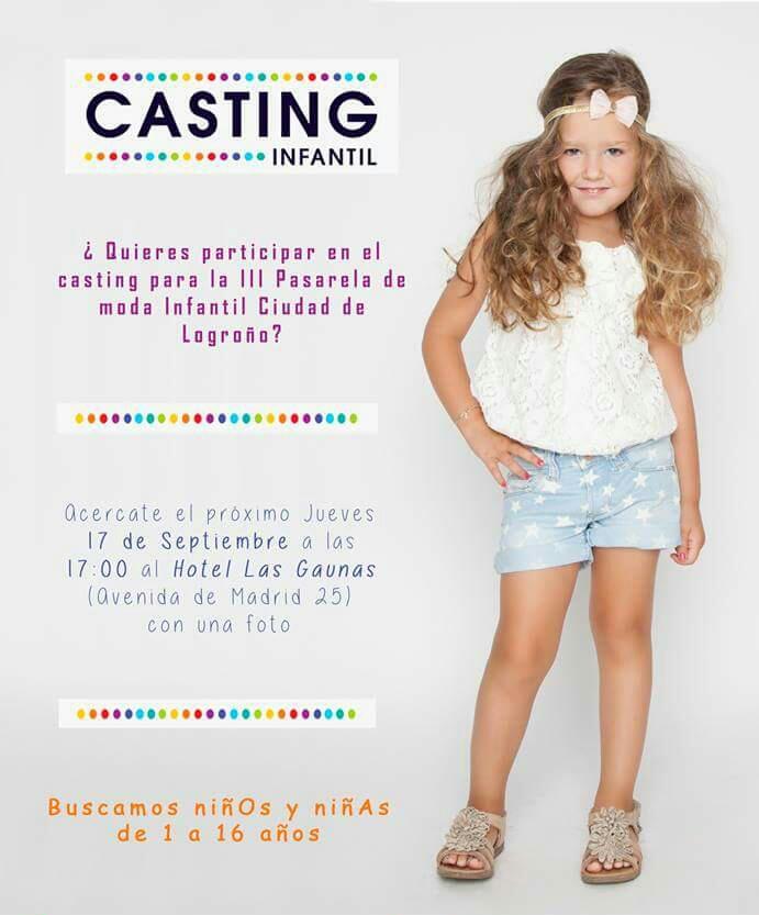 Casting para la pasarela de moda infantil Ciudad de ...