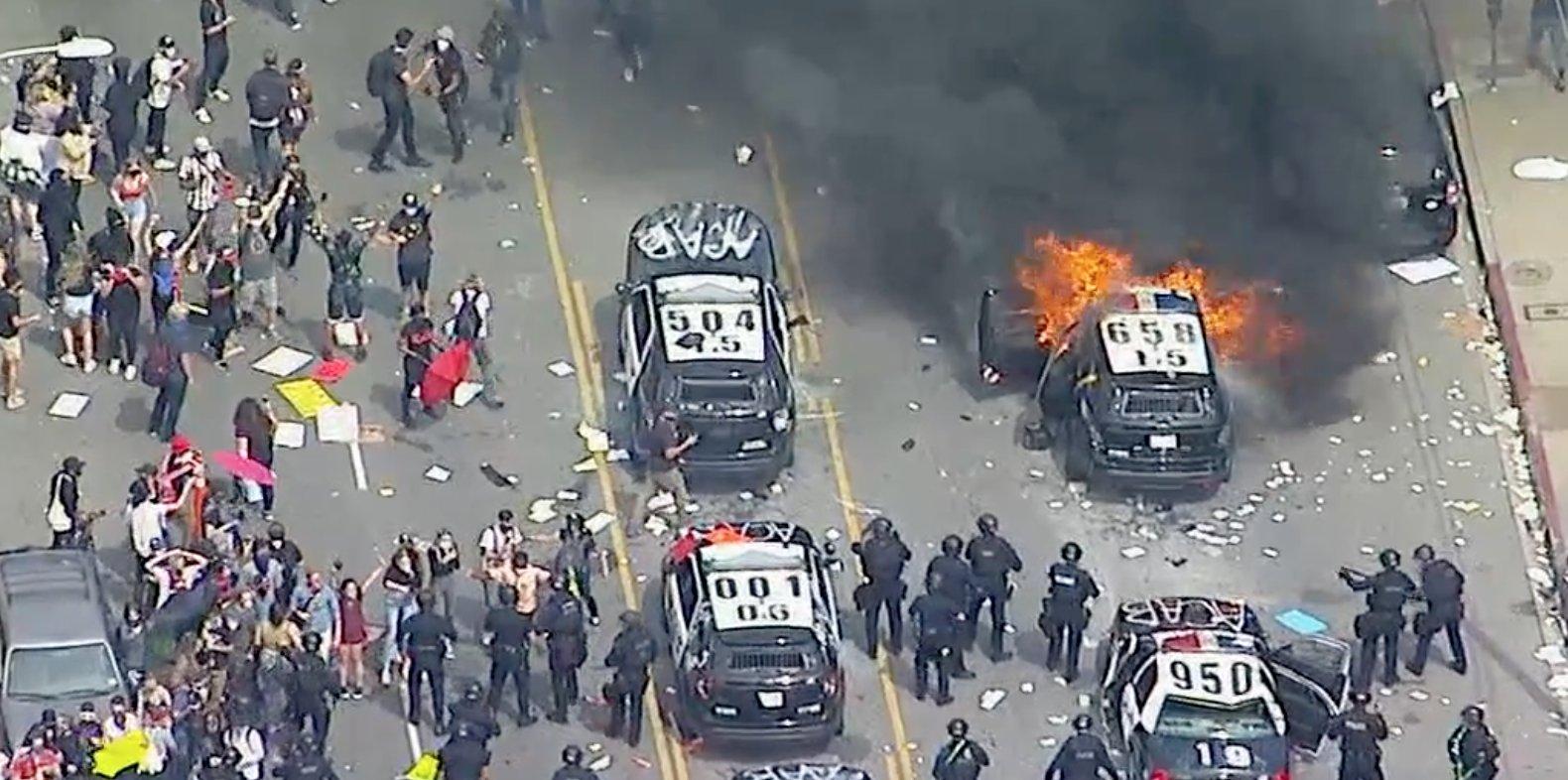George Floyd Riots in Los Angeles, CA | Entertane News