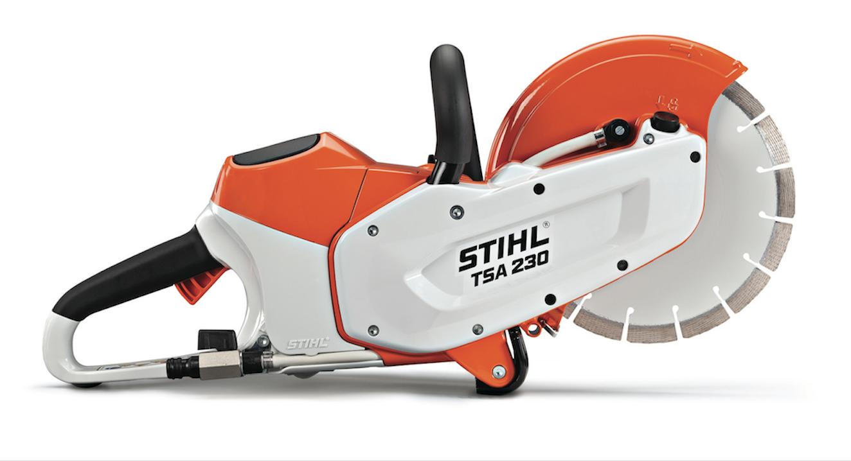 STIHL launches lithium-ion powered TSA 230 cut-off machine