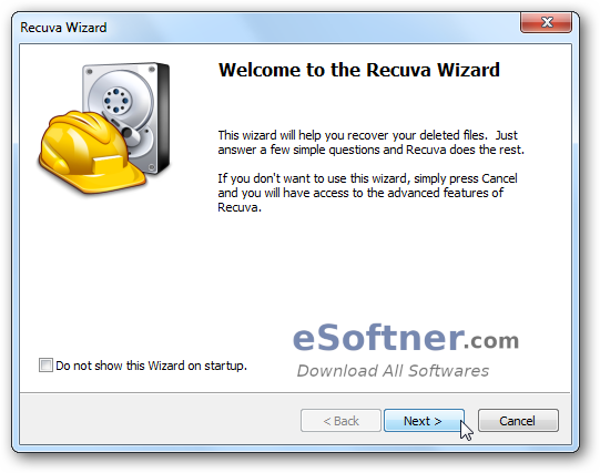 Recuva Recover deleted files on Android