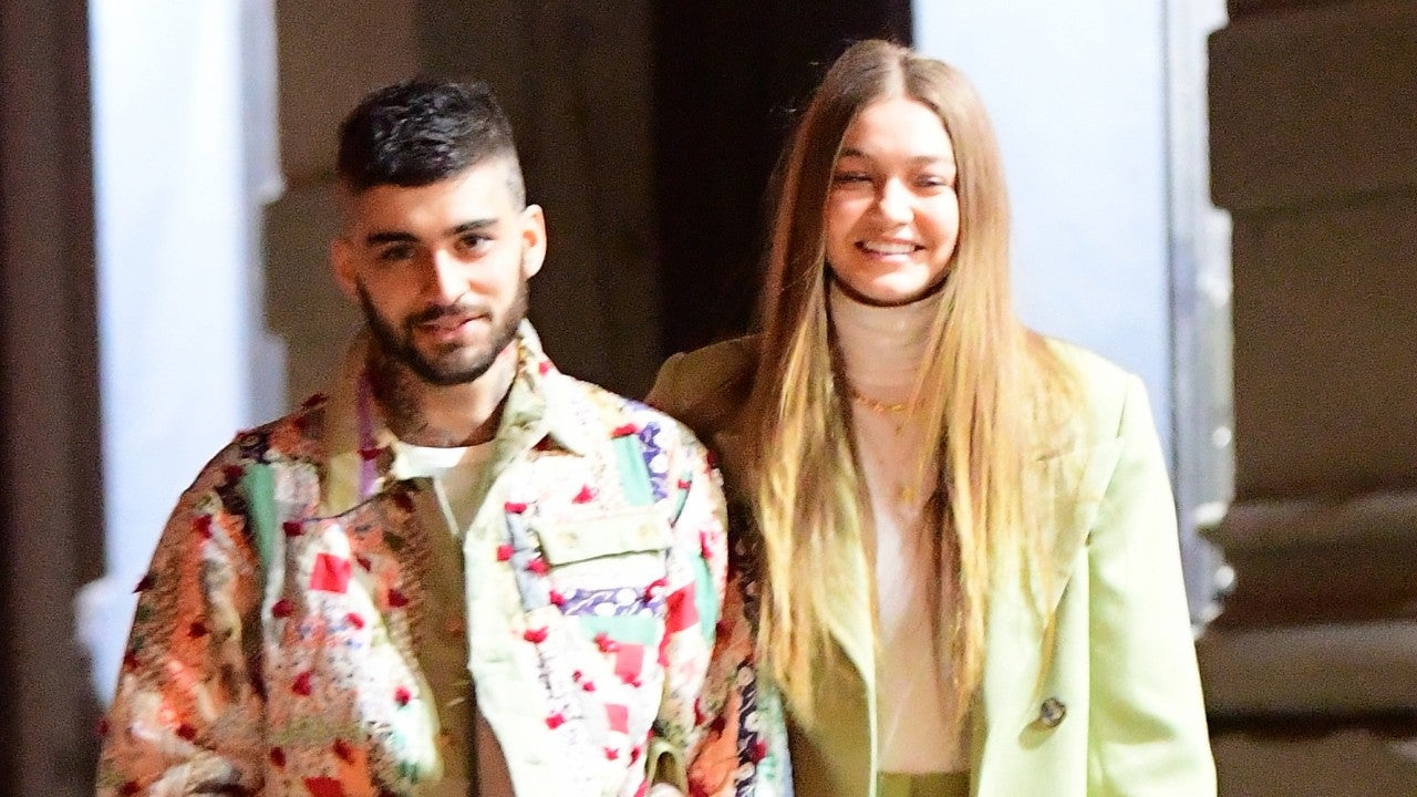 Gigi Hadid and Zayn Malik Cozy Up During NYC Stroll: See ...