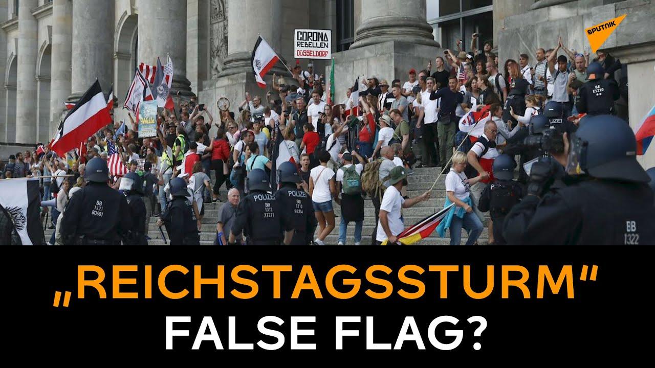 """Bild: Screenshot Video: """"""""Reichstagssturm"""" False Flag ..."""