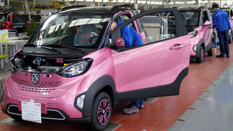 With quotas looming, China's 'new energy' car sales take ...