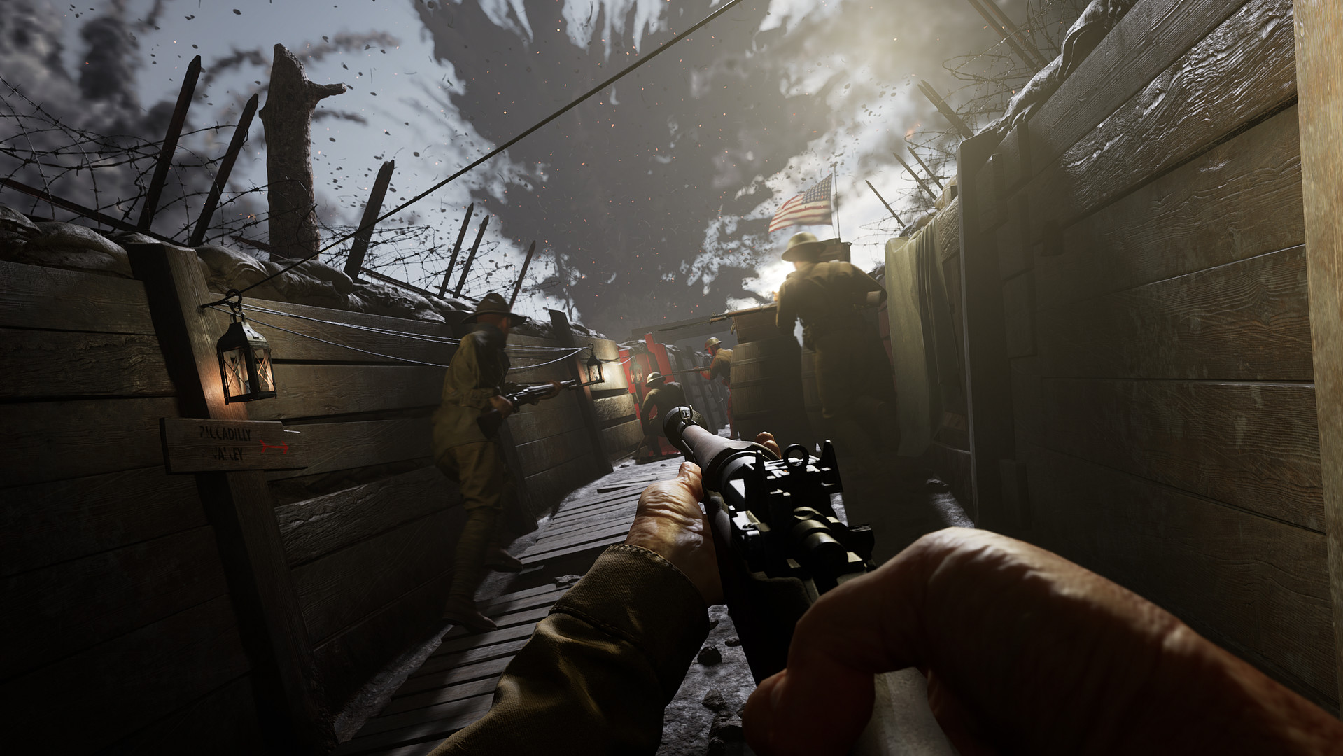 Beyond the Wire - New WWI Multiplayer Shooter - GameSpace.com