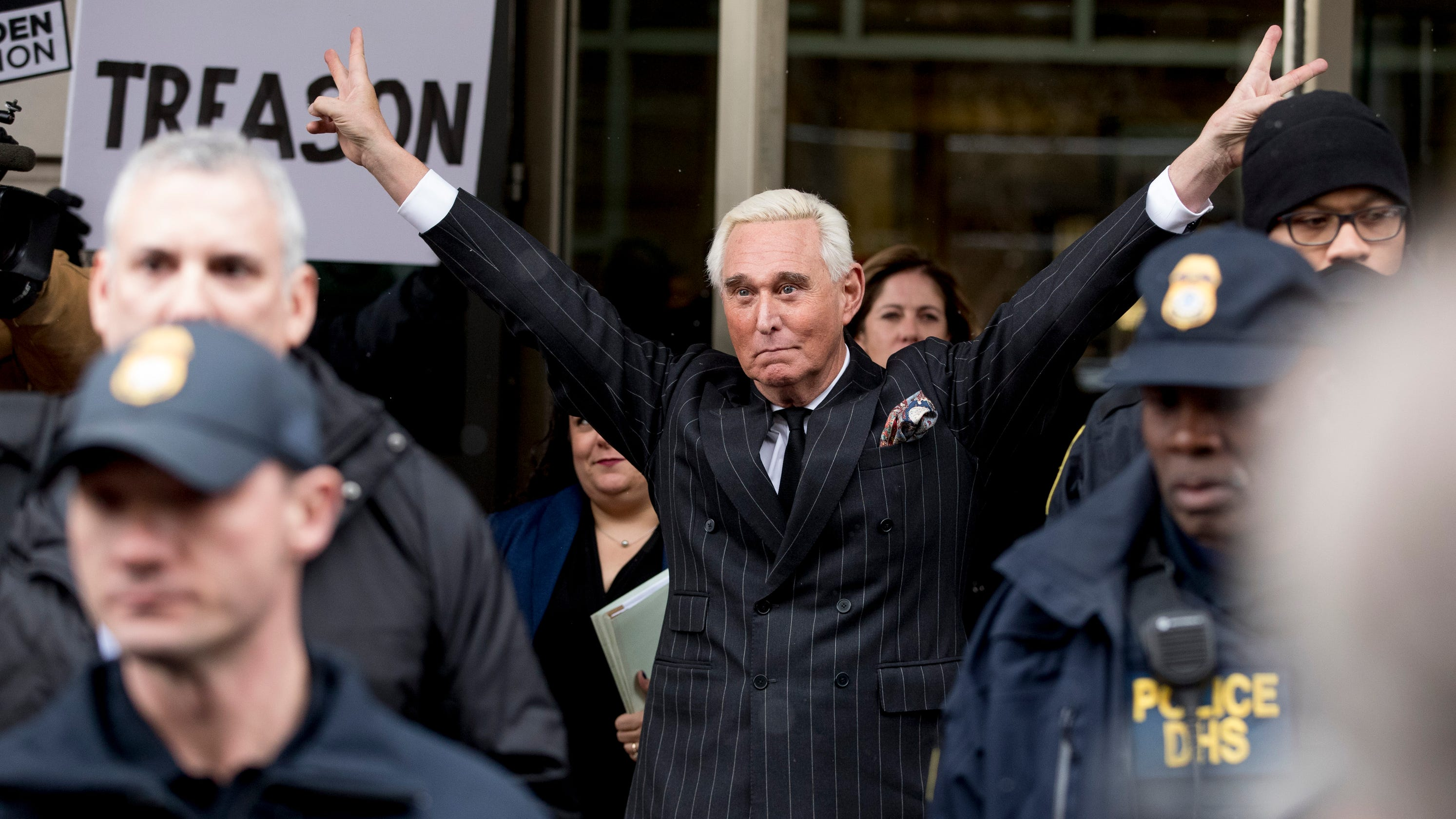 Trial of longtime Trump adviser Roger Stone to begins Today…