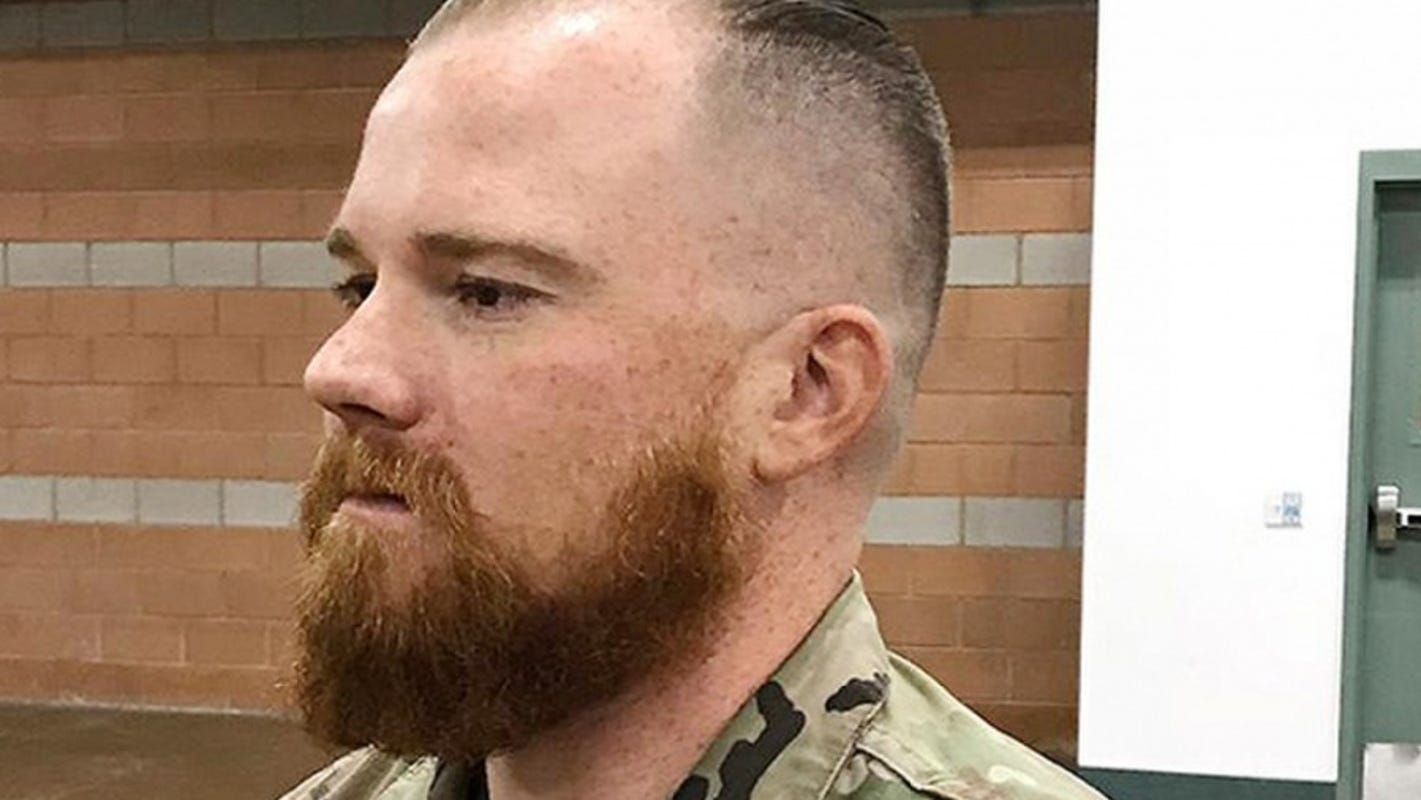 Norse pagan Army Guard soldier, 34, is the first ever allowed to serve with a beard after he argued his beliefs say it's sacred and defines masculinity…