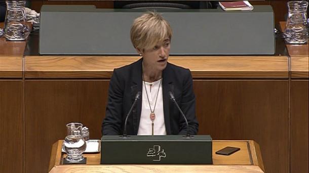 Pili Zabala se reincorpora al Parlamento Vasco tras cinco ...
