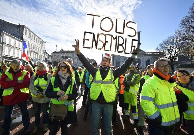 Yellow Vest Protest Movement: Inequality and the ...