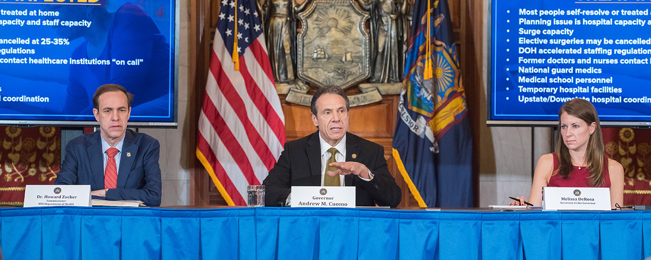 During Novel Coronavirus Briefing, Governor Cuomo ...