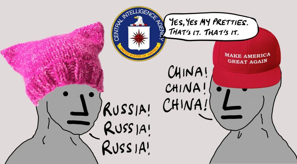 Liberal NPCs Hate Russia, Conservative NPCs Hate China ...