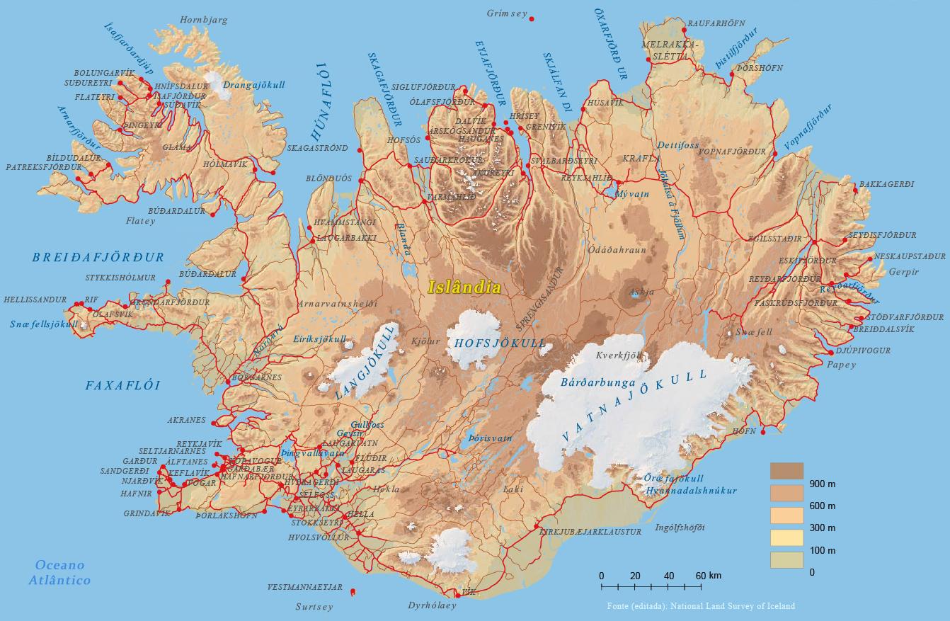 Sin noticias de Islandia