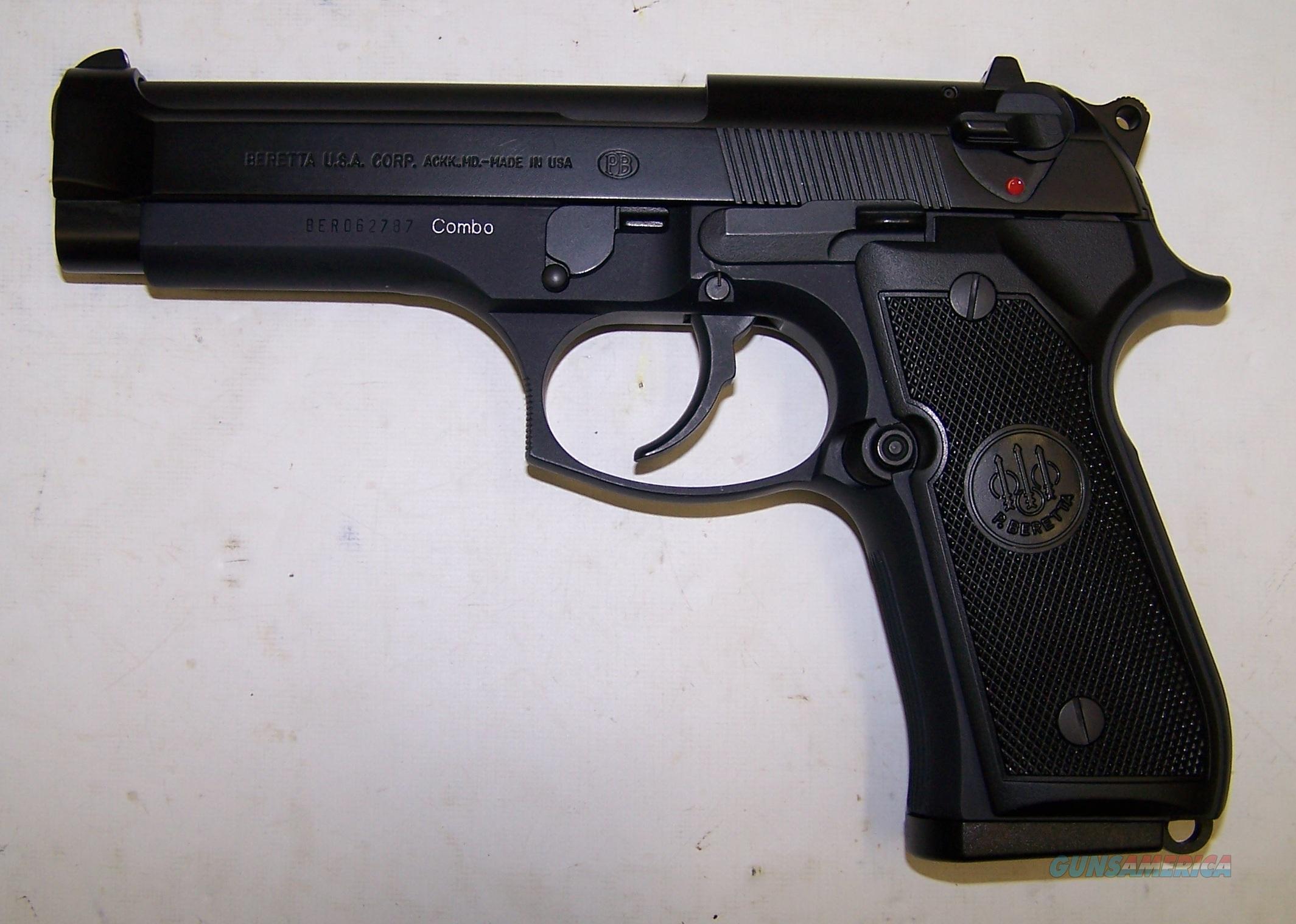 Beretta 92FS 96FS COMBO Pistol 9mm & .40 S&W OR... for sale