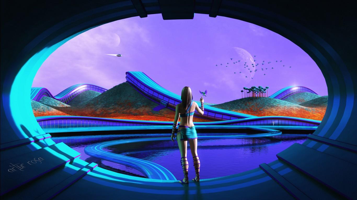Sci Fi Futuristic Life Wallpapers | HD Wallpapers | ID #23399