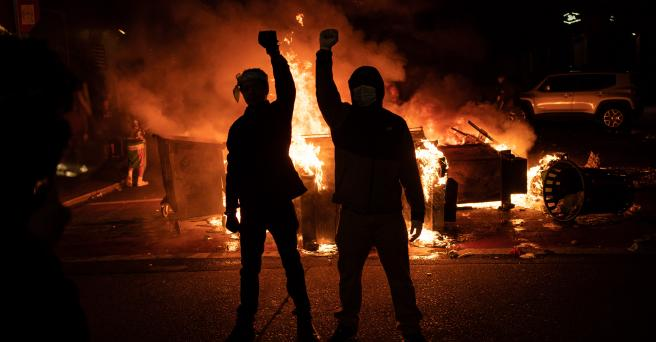 For Five Months, BLM Protestors Trashed America's Cities ...