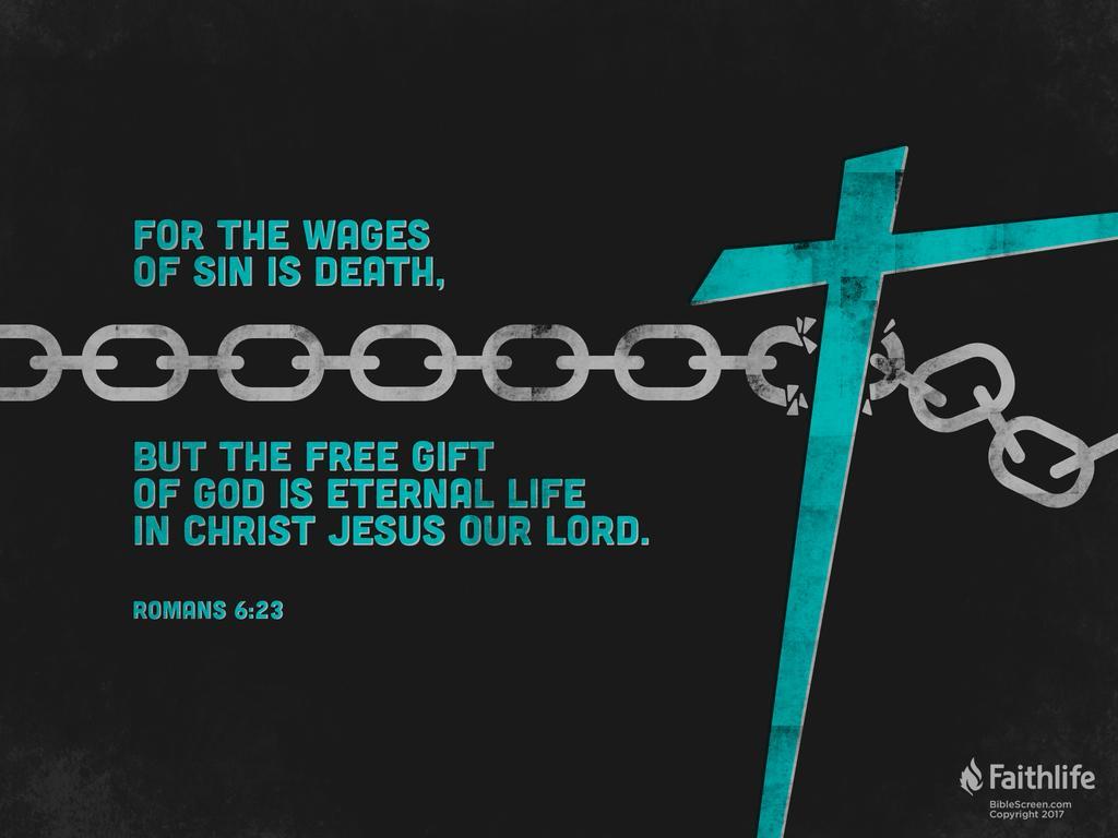 Verse of the Day - Romans 6:23 KJV - Highland Park Baptist ...