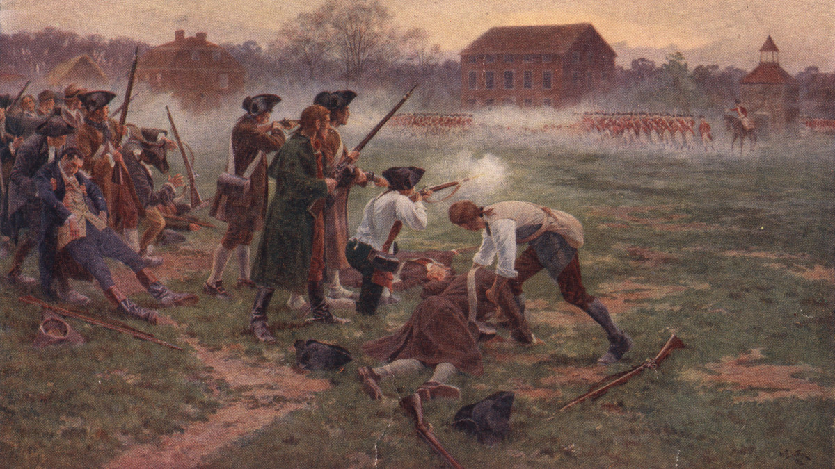 American Revolution begins at Battle of Lexington - HISTORY