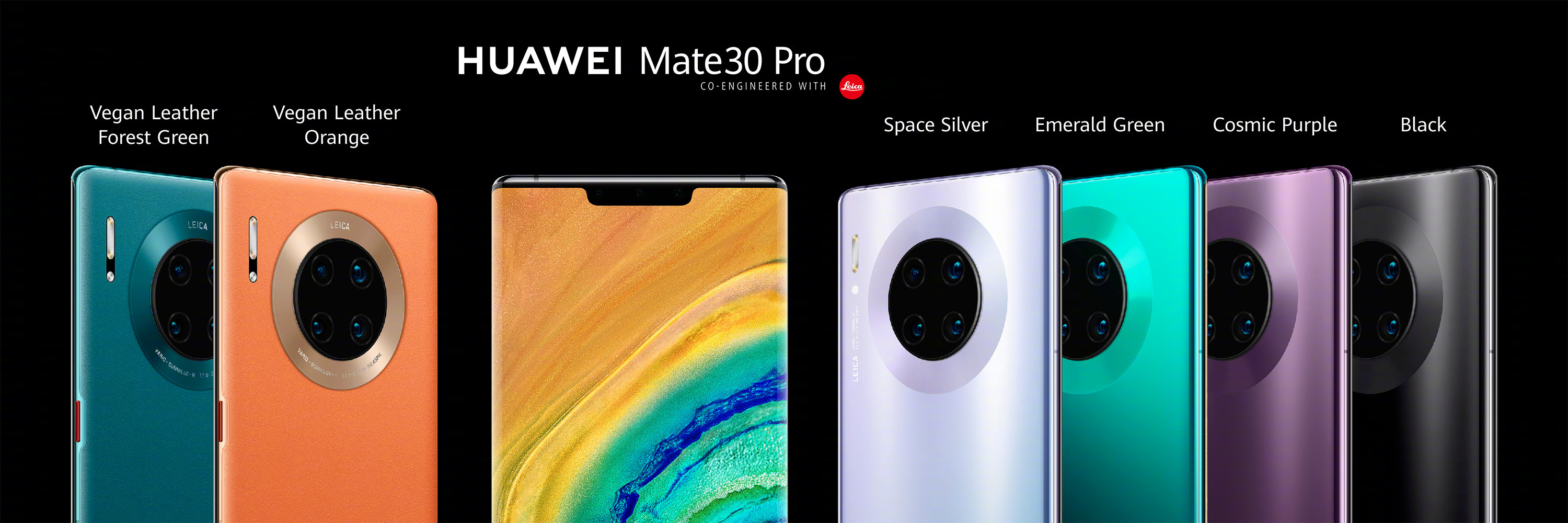 Huawei Mate 30 Pro and Mate 30 Pro (5G): Specifications ...