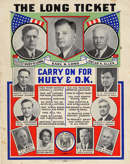 Huey Long's Legacy - A New Louisiana