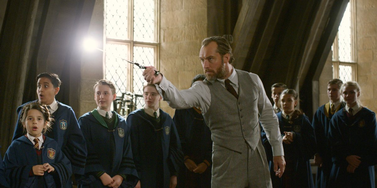 'Fantastic Beasts 3' is 'bigger than the first two movies ...