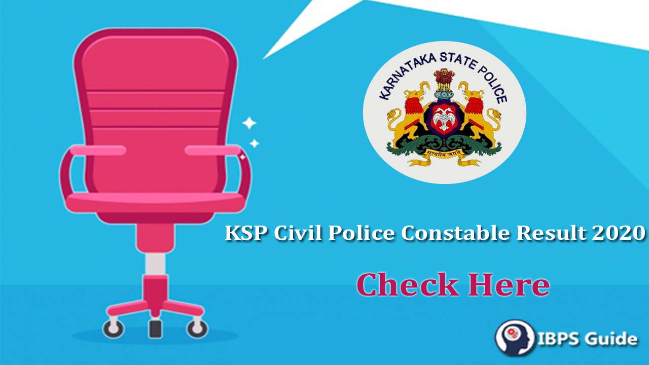 KSP Civil Police Constable Result 2020 | Download ...