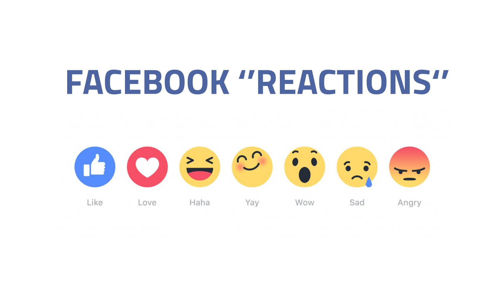 FACEBOOK ROLLS OUT REACTIONS | iNexxus