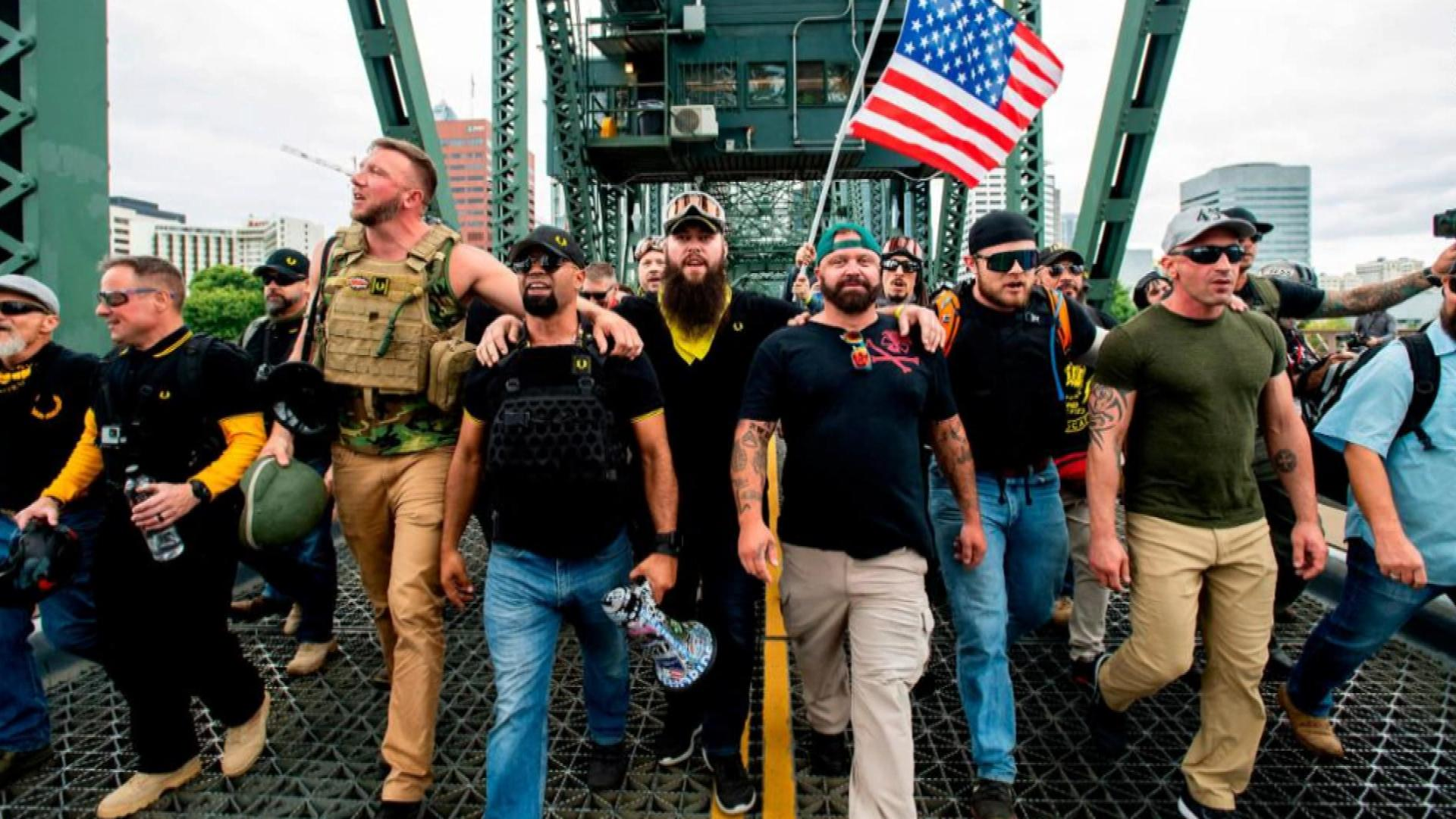 Proud Boys Quickly Adopts President Trump's Words as New ...