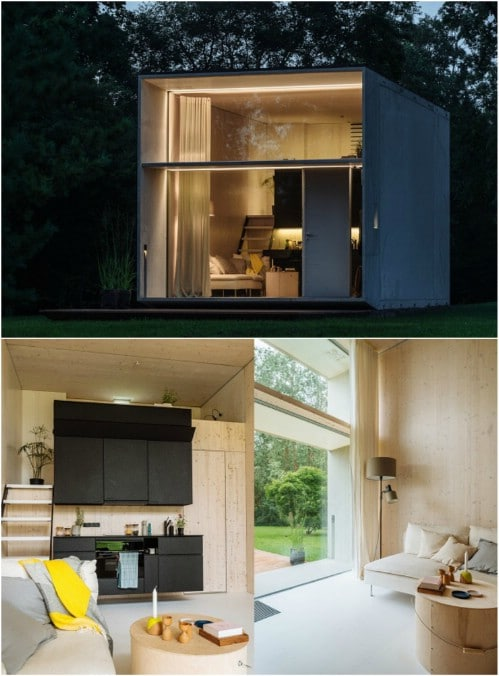 65 Minimalist Tiny Houses That Prove That Less Is More ...