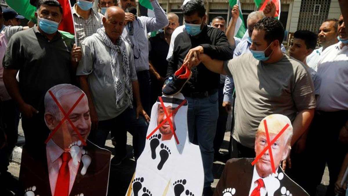 Porque a Palestina rejeita o acordo Israel-Emirados Árabes ...