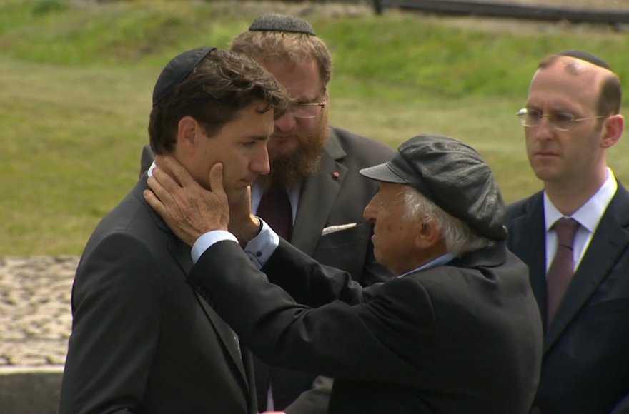Canadian PM Justin Trudeau sheds tears on Auschwitz visit ...