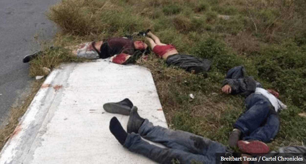 Graphic: Bodies of drug runners, human traffickers ...