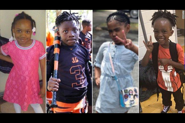This holiday weekend, little kids were killed across America