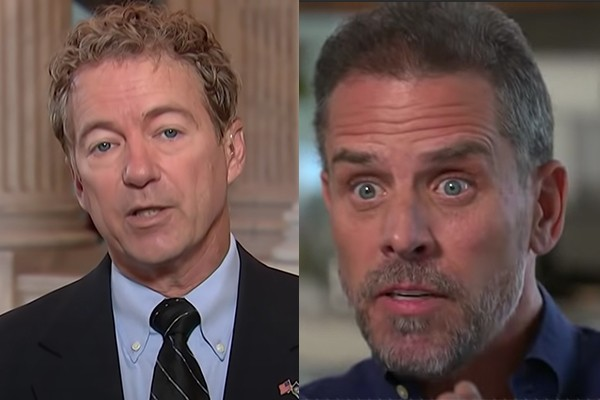 Rand Paul: I'm sending Hunter Biden Report to DOJ for ...