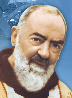 St. Padre Pio relics at Cathedral in Lincoln May 13