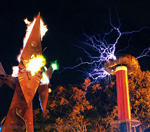tesla coils | Posters, Stock Photos & Royalty Free Images