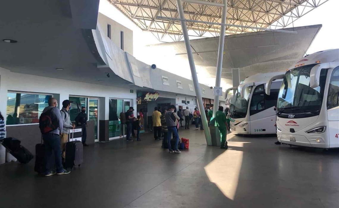 Central de autobuses de Mazatlán aún no logra recuperar todas sus rutas
