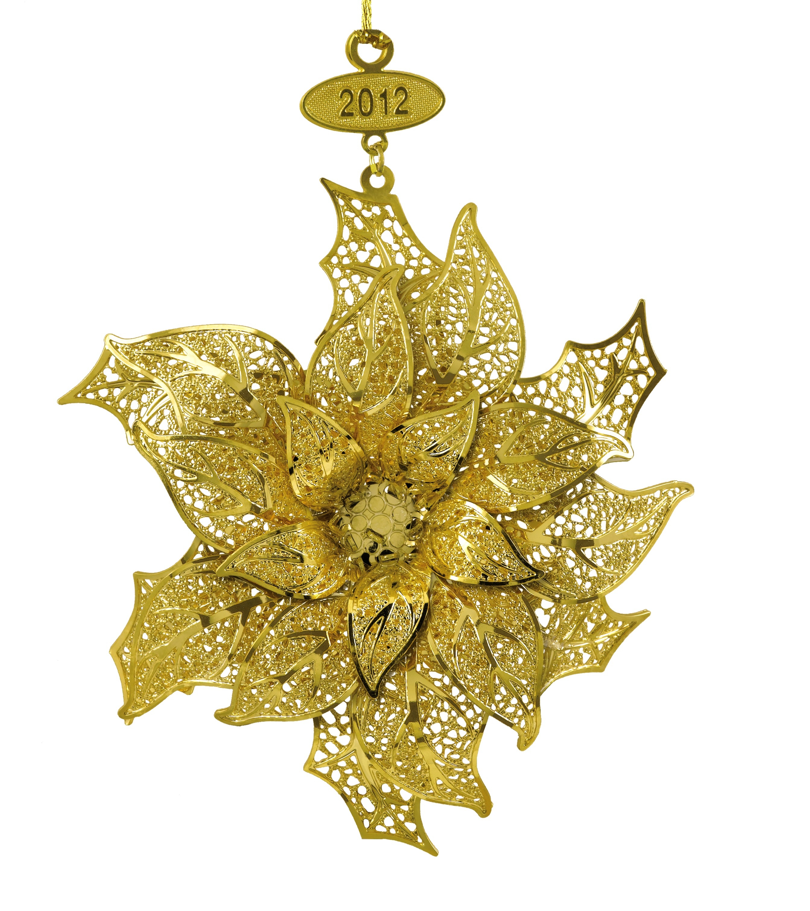 Gold Christmas Ornaments Pictures & Photos
